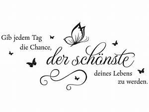 Der Schönste Tag : wandtattoo der sch nste tag von klebeheld de ~ Heinz-duthel.com Haus und Dekorationen