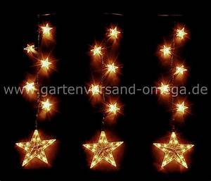 Lichterkette Außen Weihnachten : sternenkette f r innen und au en sternenlichterkette fensterbeleuchtung fensterdekoration ~ Frokenaadalensverden.com Haus und Dekorationen