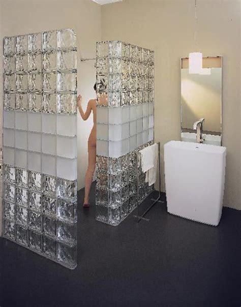 Glass Block Bathroom Designs by Glass Block Walls For Bright And Modern Bathroom Design