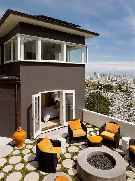 home updated  modern interiors rooftop garden