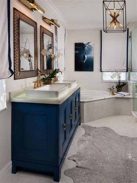 navy bathroom vanity vanity lighting hgtv navy blue bathroom vanity tsc