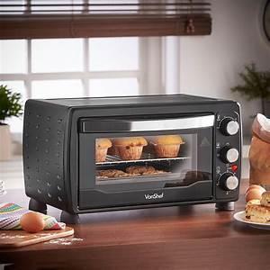 Vonshef 220 Volts 19 Liter Toaster Oven    Grill 1400 Watts With Baking Tray  U0026 Wire Rack 220 Volt