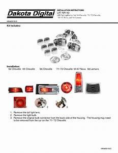 Led Tail Lights Lat-nr160 Manuals