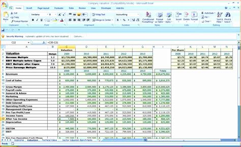 corporate budget template excel exceltemplates