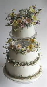 most beautiful wedding venues cake an exquisite summer meadow wedding cake of handcrafted sugar flowers the