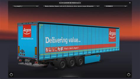 Fcpx Trailer Templates by Trailer Container Fruehauf For Ets2 1 21 1 V1 1 Modhub Us