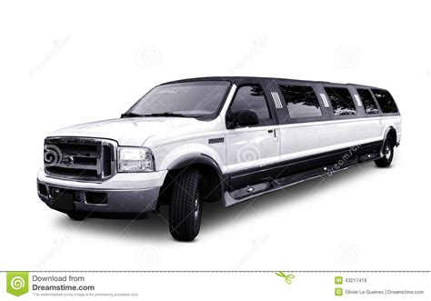 ford excursion stretched limo luxury limousine editorial stock image image