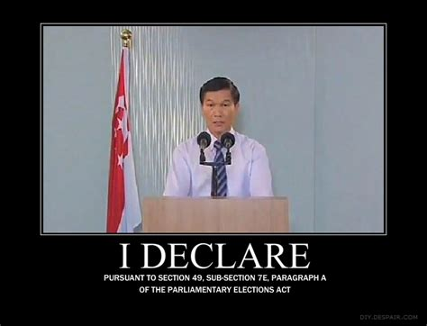 Singapore Meme - image 122711 yam ah mee returning officer extraordinaire know your meme