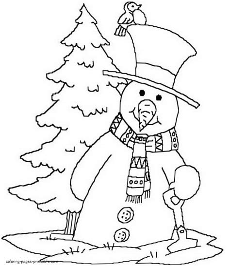 coloring pages foxy coloring page of a tree