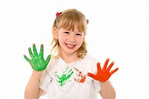 Cleaning Fabric Paint Off Kids U0026 39  Hands