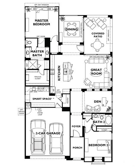 house models and plans trilogy at vistancia floor plan model home shea
