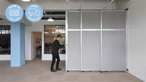 Versare Operable Wall (sliding) Room Divider Youtube