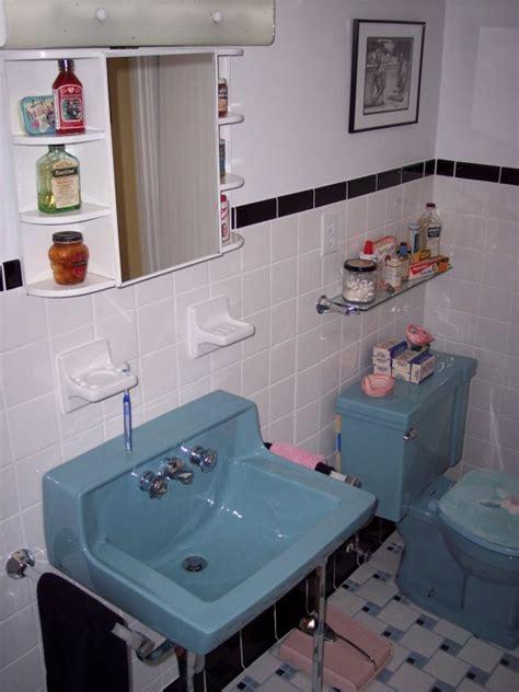 Retro Bathroom Fixtures by From 22 Blue Midcentury Bathrooms Retro Renovation