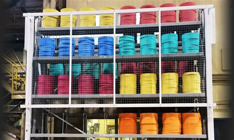 dynamic vertical storage solutions motorized carousels