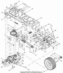 Mtd 14cu804h401  2003  Parts Diagram For Drive  Controls
