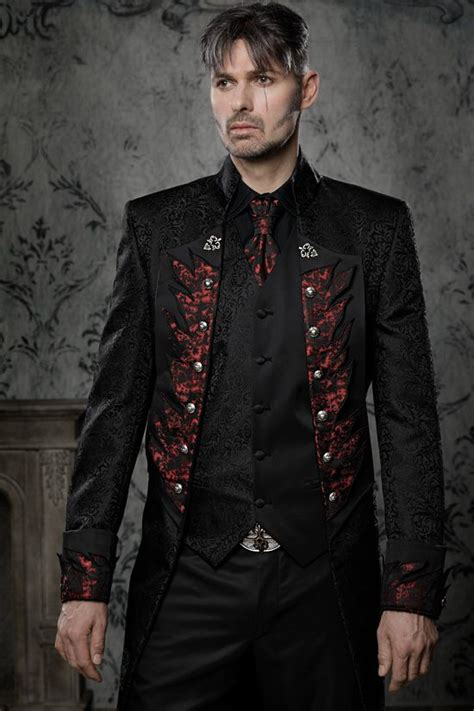 Flaming Suit Gothic Or Rockabillyoutfit For