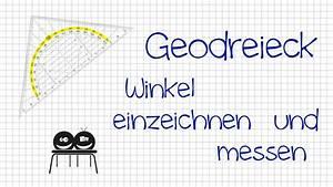 Rechter Winkel Mit Meterstab : wie misst und zeichnet man winkel mit dem geodreieck youtube ~ Watch28wear.com Haus und Dekorationen