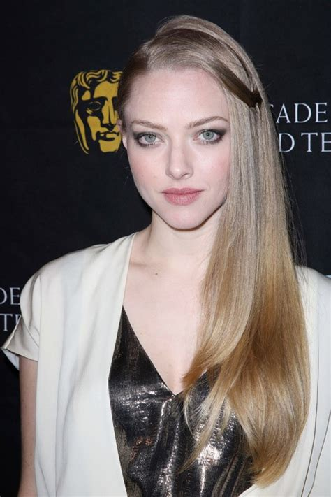 Light Brown Hair With Ombre by Amanda Seyfried Clothes Amp Steal Her Style