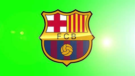 Barcelona Logo Green Screen