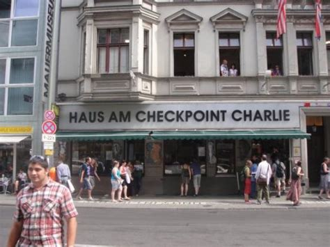 A Bit Of The Wall Outside The Checkpoint Charlie Museum