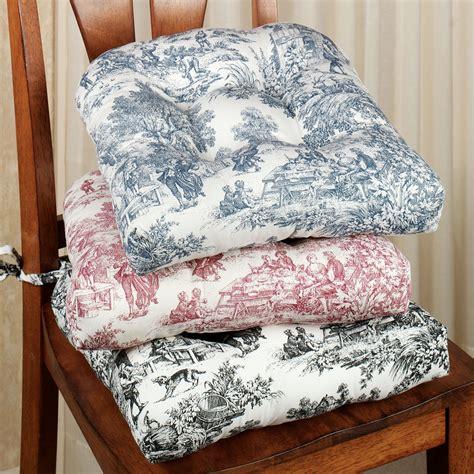 victoria park toile chair cushion set