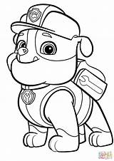 Zuma Paw Patrol Coloring Pages Colouring Printable Getcolorings sketch template