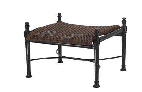 florence by gensun luxury wicker patio furniture ottoman