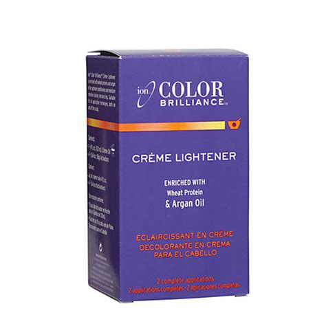 ion color brilliance creme oil lightener