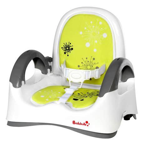 rehausseur de chaise badabulle badabulle réhausseur confort blanc vert blanc vert