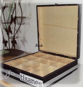 Boite à Tisane : une boite tisane l 39 univers de missdo ~ Teatrodelosmanantiales.com Idées de Décoration