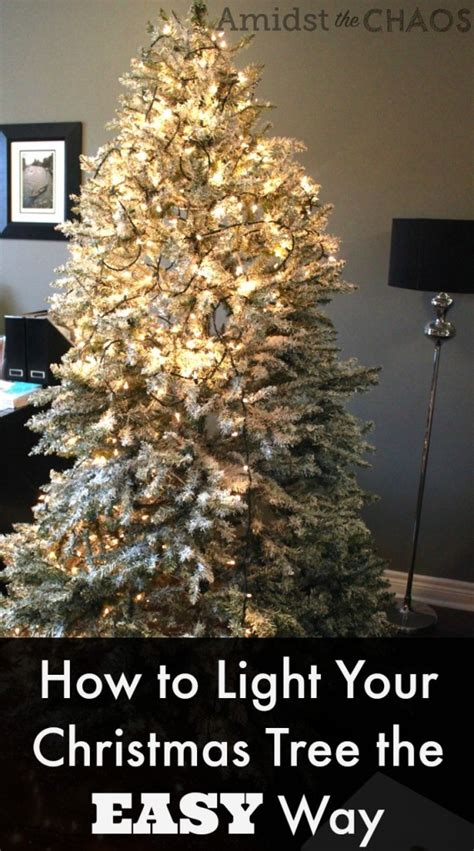 day 2 how to light your christmas tree the easy way