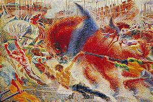 Java Script Code Examples The City Rises Umberto Boccioni Painting Reproduction