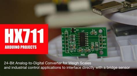 diy arduino projects hx analog  digital converter