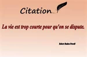 Citations Courtes Sur La Vie by Des Citations Sur La Vie Trop Courte Citation Sur La Vie