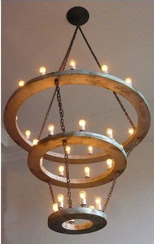 10 Easy Pieces Modern Halo Chandeliers  Flower Wrap