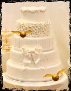 harry potter wedding cake 7 whimsically awesome harry potter themed wedding ideas
