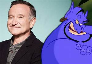 Robin Williams' will means no Genie outtakes in Disney ...