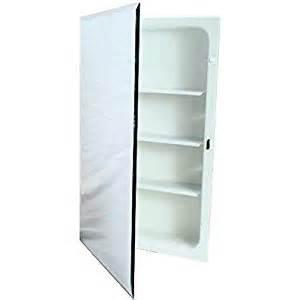 amazon com nutone recessed plastic medicine cabinet 16 in
