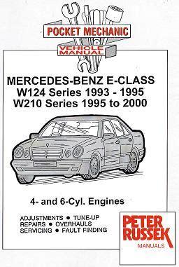 free download parts manuals 2000 mercedes benz e class interior lighting 1993 2000 mercedes benz e class w124 series 1993 1995 w210 series 1995 2000 4 6