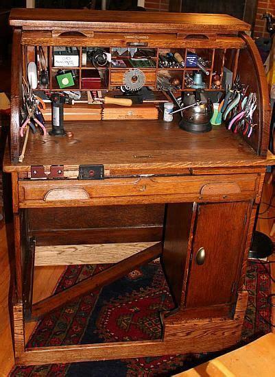 david wendelken  refurbishedrepurposed rolltop desk