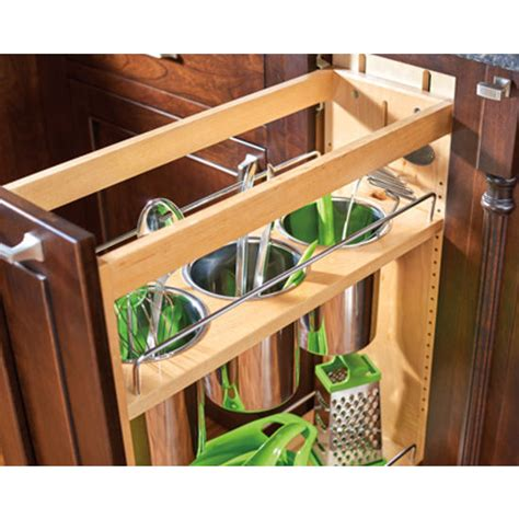 unfinished kitchen base cabinets base cabinet pullout utensil organizer with blumotion