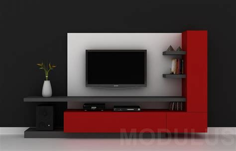 modulares  living tv lcd led wall unit muebles