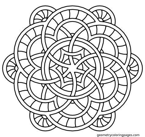 simple mandala coloring pages collection free coloring books