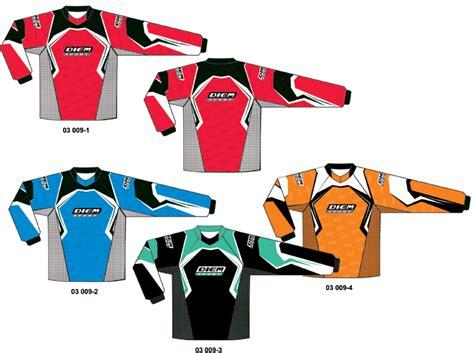 personalised motocross jersey diem sport custom team uniforms sublimation printed