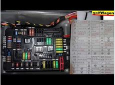 BMW 1 F20 fuse description? BMW 1 fuses diagram YouTube