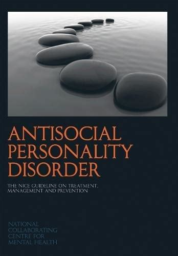 isbn  antisocial personality disorder