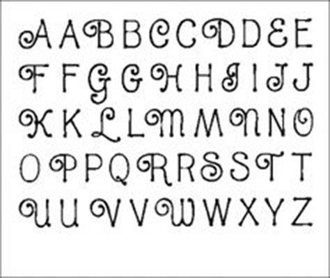 details  alphabet stencil fancy script  capital