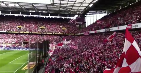 Fc Koln Fc Köln Fans Belt Out Runrig 39 S Loch Lomond In