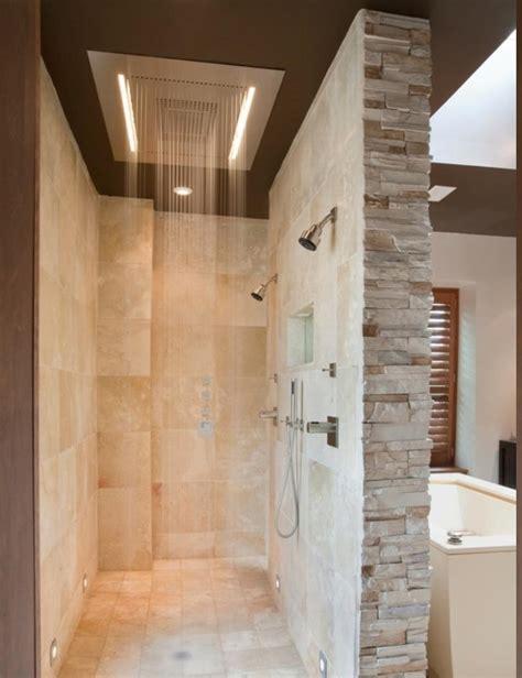 elegant doorless shower designs  unique shower ideas