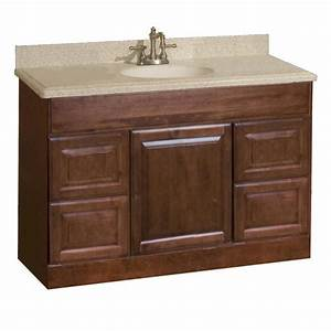 Pace Valencia Series 48quot X 18quot Vanity With Drawers At Menards